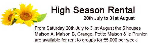 High Season Rental