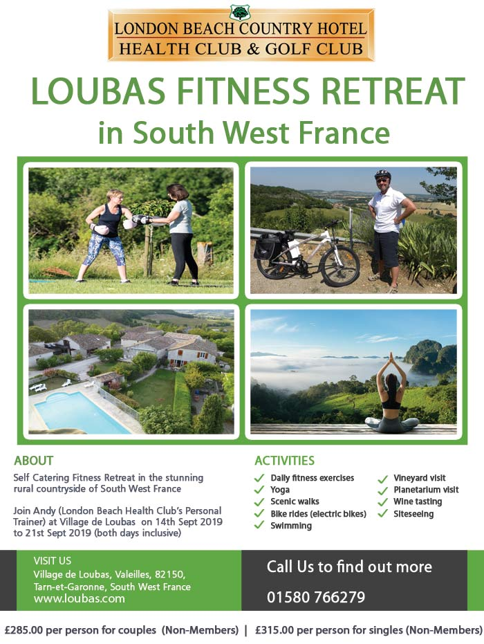 Loubas Health Retreat S W France