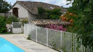 La grange from the pool